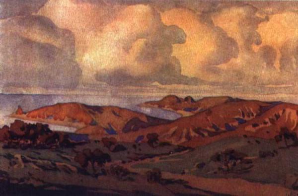 МАКСИМИЛИАН ВОЛОШИН В окрестностях Коктебеля. 1910-е