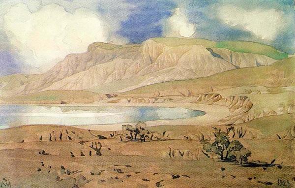 МАКСИМИЛИАН ВОЛОШИН Настороженная земля. 1928