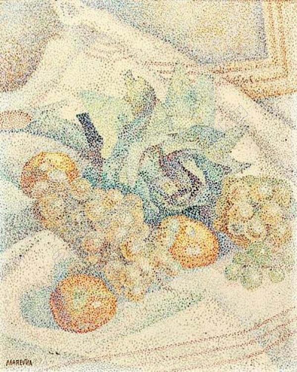 МАРЕВНА Натюрморт с фруктами. 1928