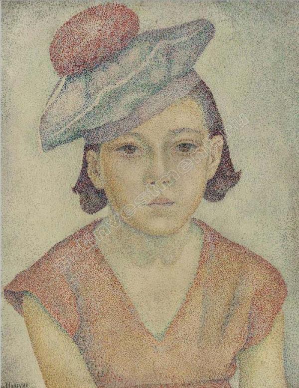 МАРЕВНА Портрет Марики