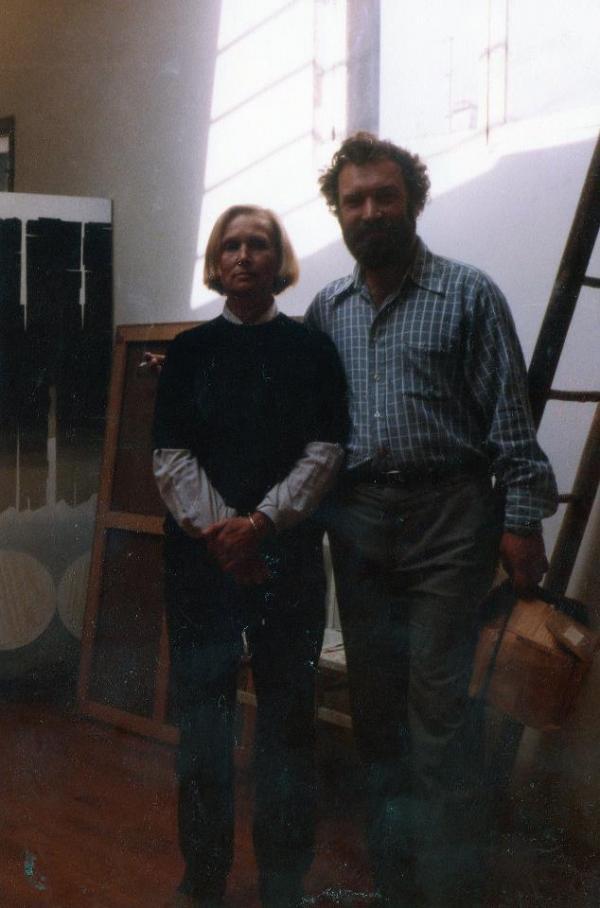 Валентин Воробьев с Лидией Мастерковой в Париже. 1978