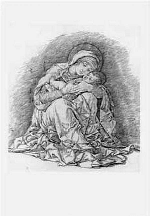 АНДРЕА МАНТЕНЬЯ Мадонна с младенцем