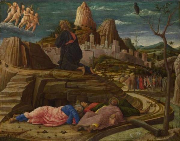 АНДРЕА МАНТЕНЬЯ Моление о чаше. 1458–1460