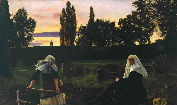 ДЖОН ЭВЕРЕТТ МИЛЛЕС Долина успокоения. 1858–1859