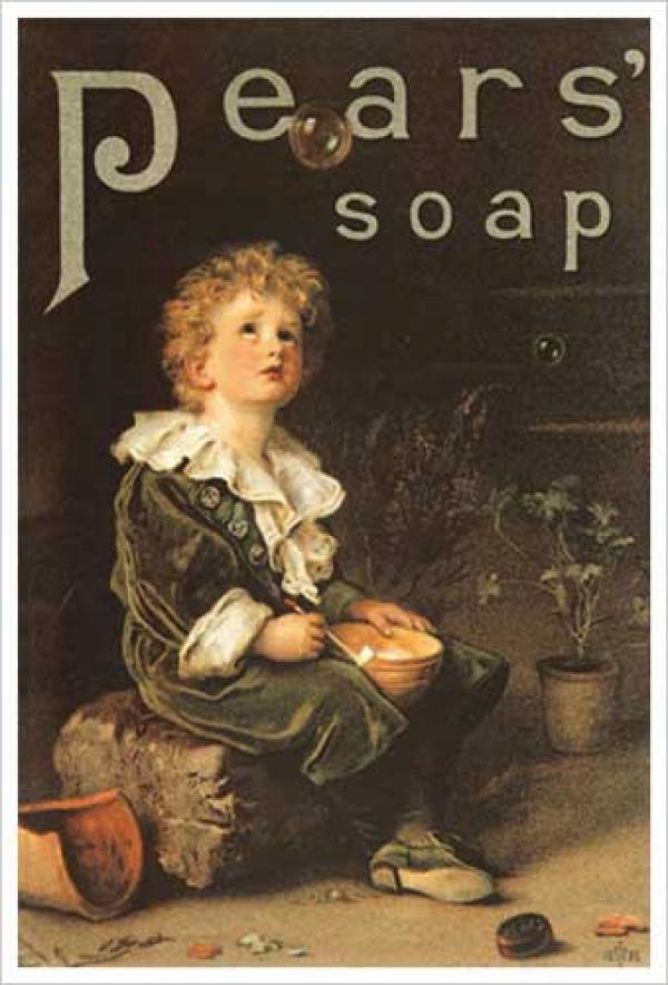 Мыло Пирса. Рекламный плакат. 1886