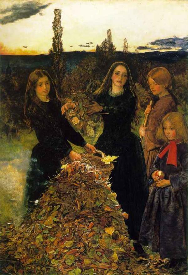 ДЖОН ЭВЕРЕТТ МИЛЛЕС Осенние листья. 1856