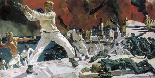 АЛЕКСАНДР ДЕЙНЕКА Оборона Севастополя. 1942