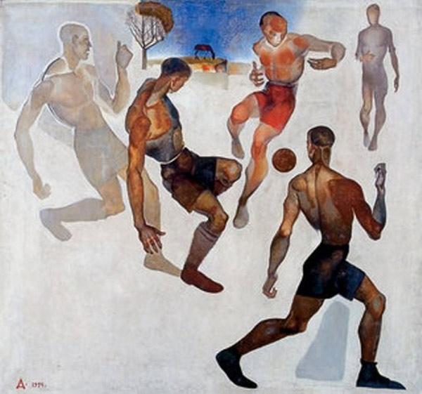 АЛЕКСАНДР ДЕЙНЕКА Футбол. 1924
