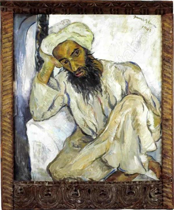 ИРМА ШТЕРН Арабский священнослужитель. 1945