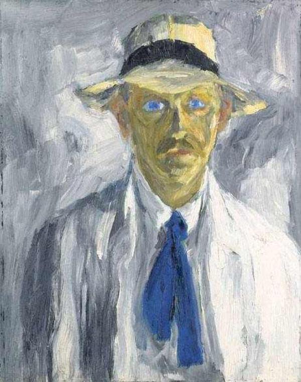 ЭМИЛЬ НОЛЬДЕ Автопортрет. 1917