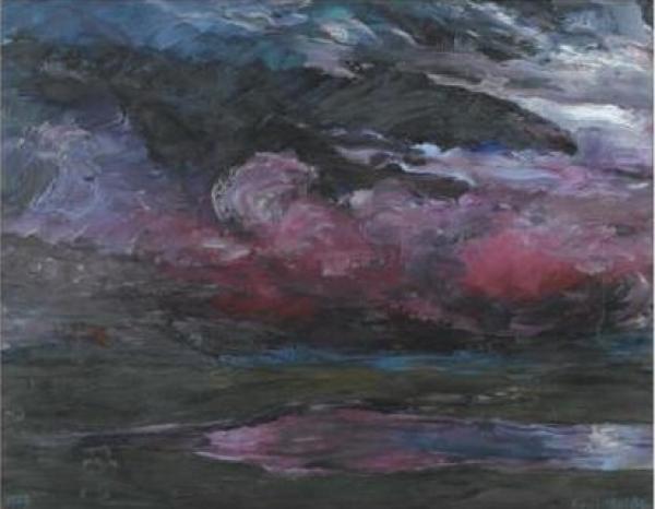 ЭМИЛЬ НОЛЬДЕ Облака. 1927