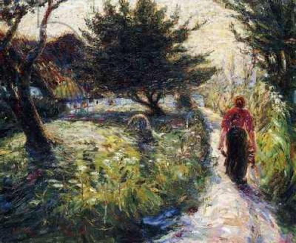 ЭМИЛЬ НОЛЬДЕ Летний вечер. 1903