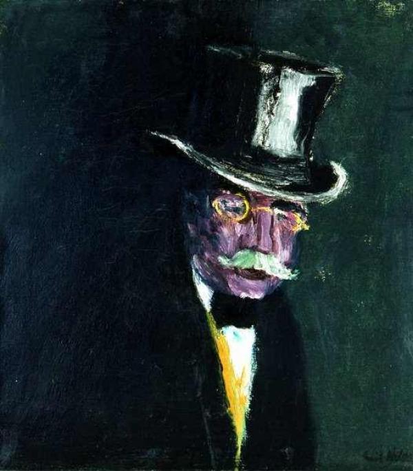 ЭМИЛЬ НОЛЬДЕ Портрет Густава Шифлера. 1915