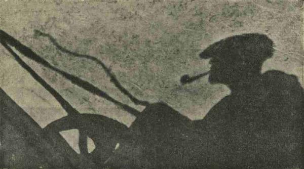 В. ЧЕМКО Силуетный портрет (снят с повозки в солнечный день)