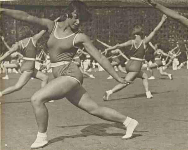 АЛЕКСАНДР РОДЧЕНКО Ритмическая гимнастика. 1936