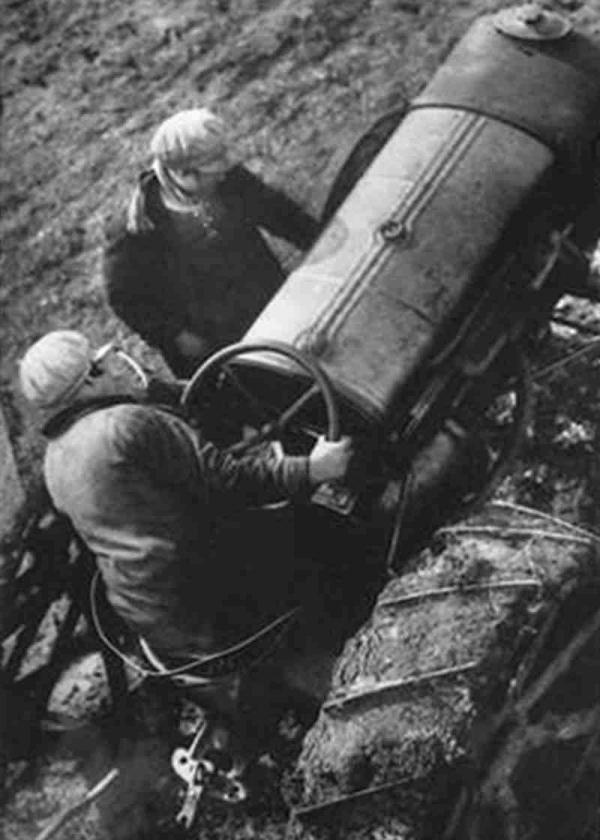 АРКАДИЙ ШИШКИН Первый тракторист в совхозе «Гигант». 1930