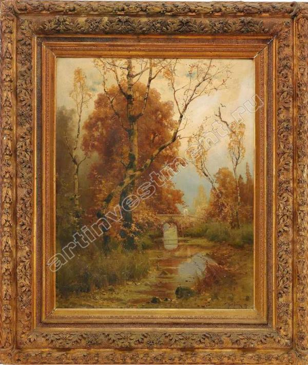 КЛЕВЕР Ю.Ю. Осенний пейзаж