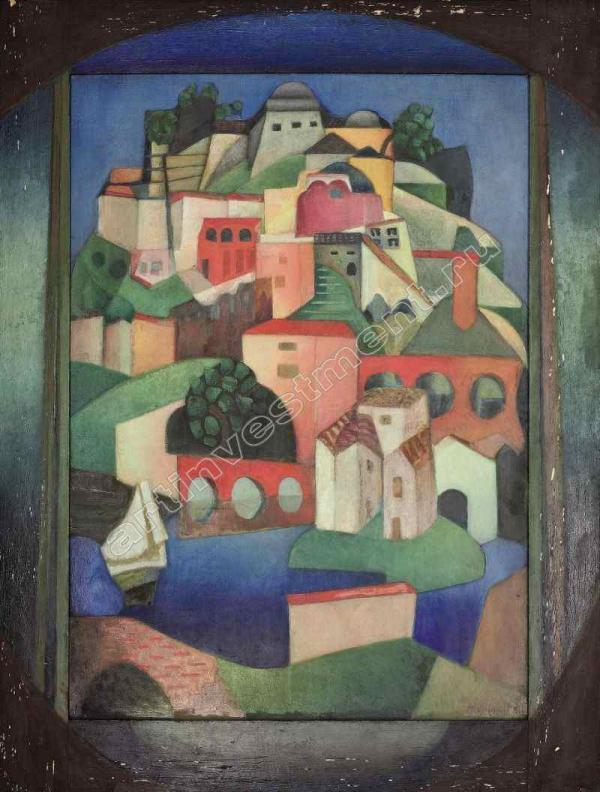 ЭТТИНГЕН ЕЛЕНА ФРАНЦИЕВНА (1887–1950) Корд-сюр-Сьель. 1920