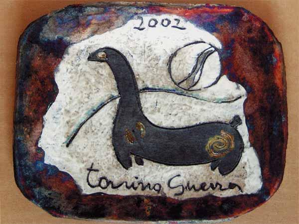 Тонино ГУЭРРА. Тарелка. 2002
