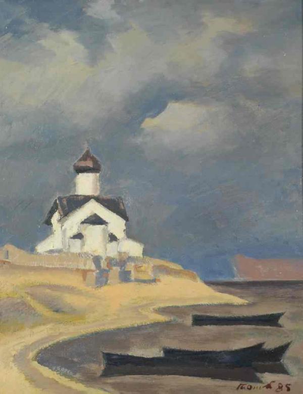 П. П. ОССОВСКИЙ Храм на озере. 1985
