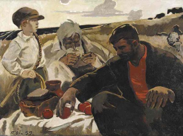 П. П. ОССОВСКИЙ. Три поколения. 1959