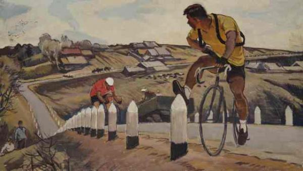 П. П. ОССОВСКИЙ. Велосипедисты. 1959