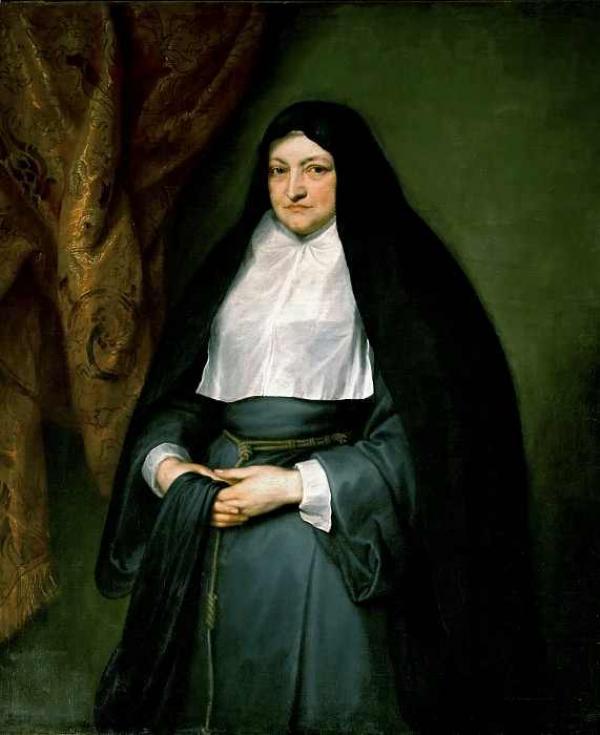 Антонис ван ДЕЙК Портрет Инфанты Изабеллы Клары Евгении. 1621–1633