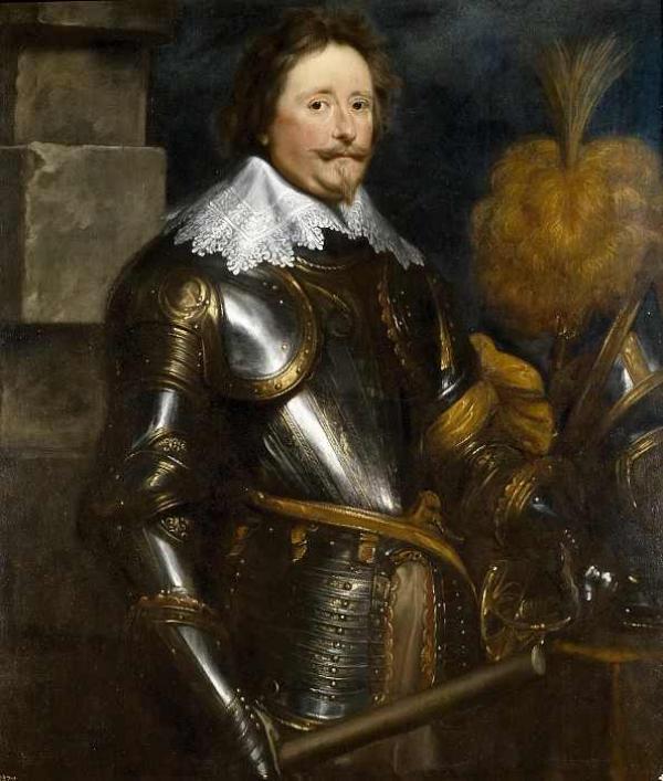 Антонис ван ДЕЙК Портрет Фредерика Хендрика Нассау, принца Оранского. 1631–1632