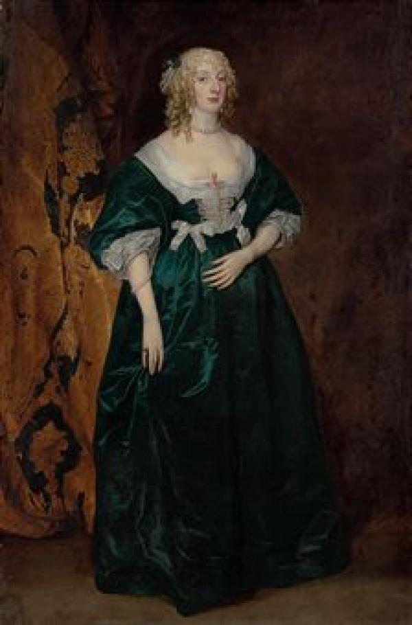 Антонис ван ДЕЙК Портрет Анны Софии, графини Карнарвон