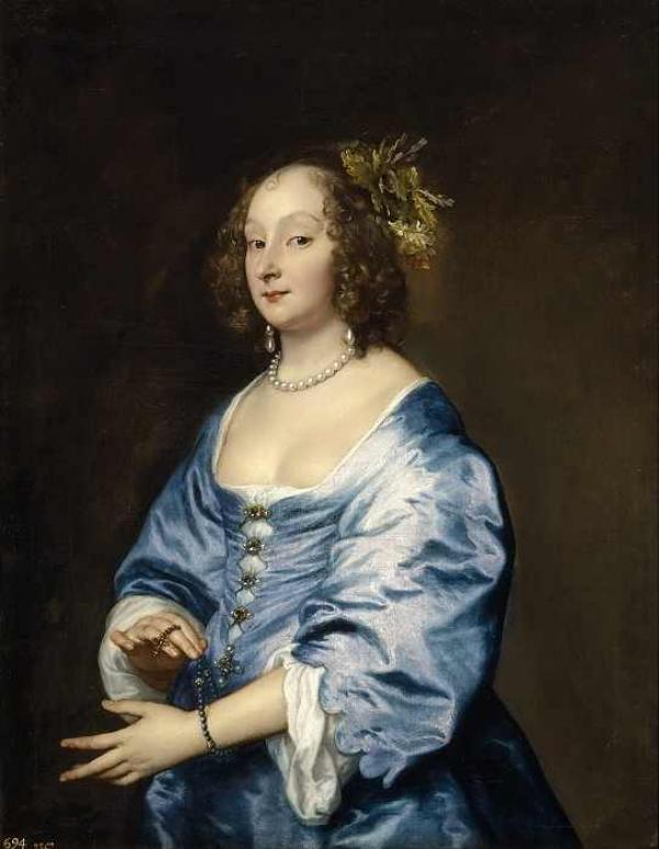 Антонис ван Дейк Портрет Марии Рутвен. 1639