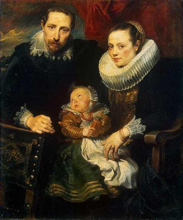 Антонис ван ДЕЙК Семейный портрет 1621