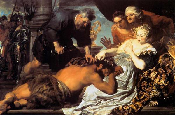 Антонис ван ДЕЙК Самсон и Далила. 1618–1620