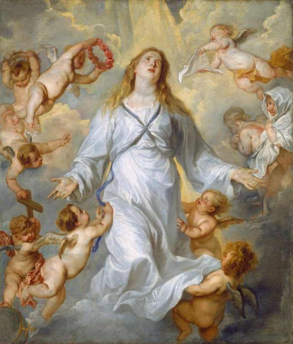 Антонис ван ДЕЙК Вознесение Богородицы. 1628–1629
