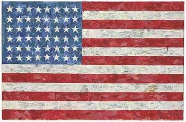 ДЖАСПЕР ДЖОНС Флаг. 1960–1966