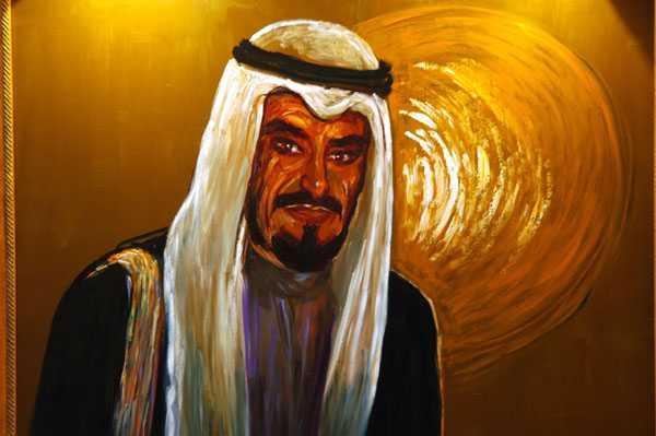 ЭНДРЮ ВИКАРИ Его высочество Эмир Кувейта,  Джабер аль-Ахмад аль-Джабер ас-Сабах. 2005