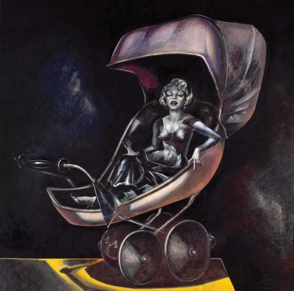 Л.ПОЛИЩУК и С.ЩЕРБИНИНА Коляска (Мэрилин Монро). 1989–1997