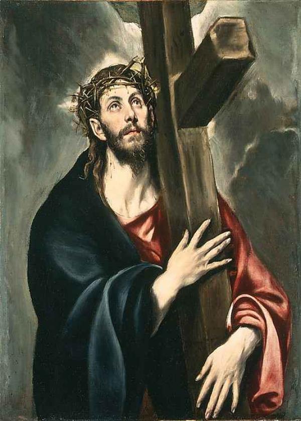 ЭЛЬ ГРЕКО Несение креста. 1577–1587