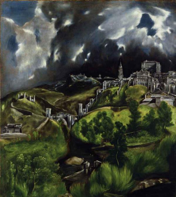 ЭЛЬ ГРЕКО Вид Толедо. 1610–1614