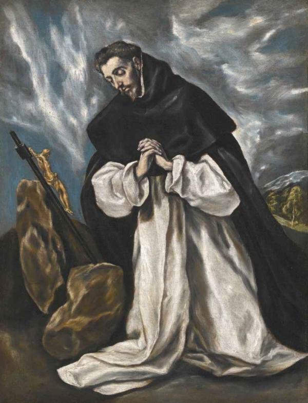 ЭЛЬ ГРЕКО Молитва Св. Доминика