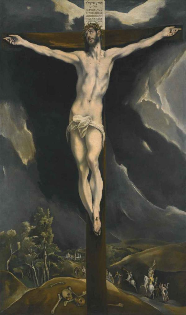 ЭЛЬ ГРЕКО Христос на кресте
