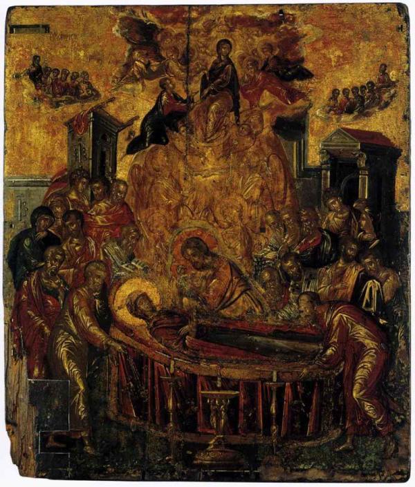 ЭЛЬ ГРЕКО Успение Богородицы. Не позже 1567