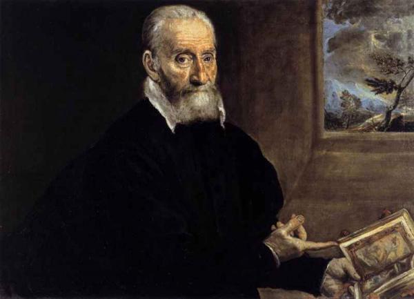 ЭЛЬ ГРЕКО Портрет Джулио Кловио. 1571–1572
