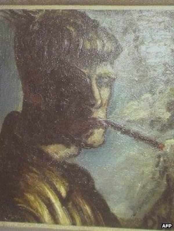 Неизвестный автопортрет Отто Дикса, найденный в квартире Корнелиуса Гурлитта