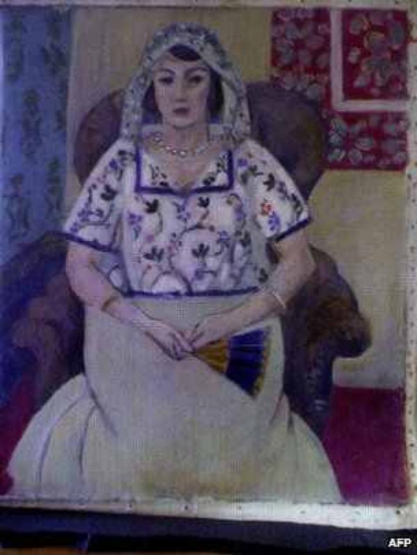 Неизвестный портрет Анри Матисса, найденный в квартире Корнелиуса Гурлитта