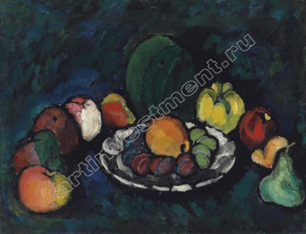 6. МАШКОВ И.И. Натюрморт с фруктами. 1910