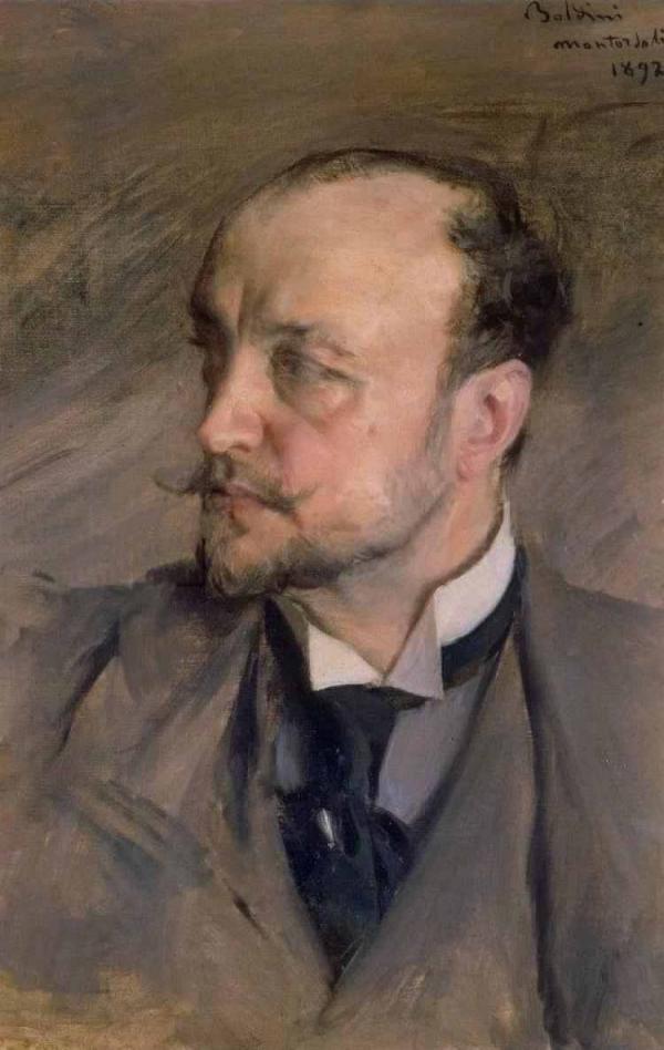 Дж. БОЛДИНИ Автопортрет. 1892