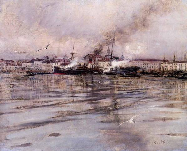 Дж. БОЛДИНИ. Вид Венеции. Ок. 1895