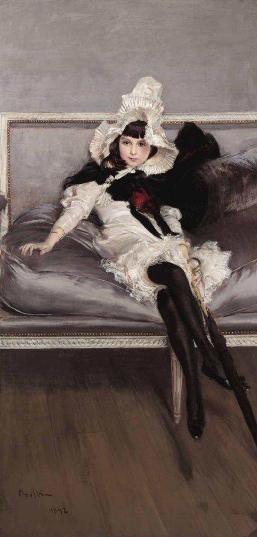Дж. БОЛДИНИ Портрет Джиовинетты Эрразурис. 1892