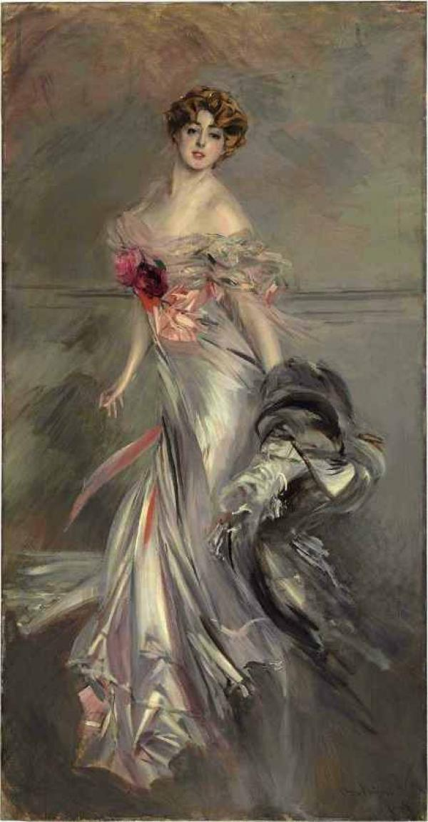 Дж. БОЛДИНИ Портрет Марты Ренье. 1905