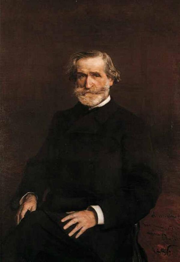 Дж. БОЛДИНИ Портрет Джузеппе Верди. 1886